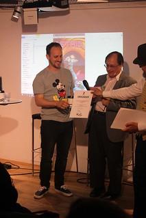 Kim W. Andersson får Urhunden-nominering.