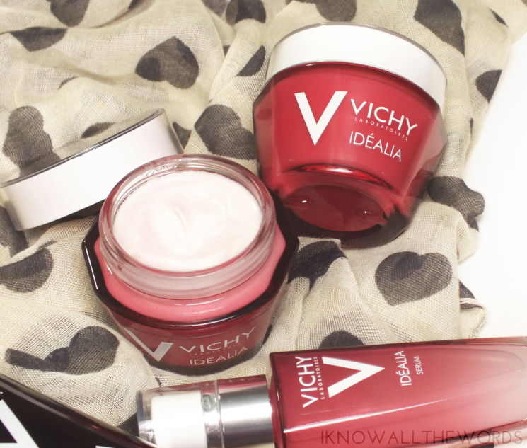 vichy idealia peeling antioxidant serum & glow energizing cream (2)