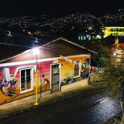Pasaje Beethoven, cerro Concepción