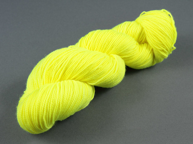 Favourite Sock – hand-dyed superwash merino 4 ply yarn 'Health and Safety Gone Mad'