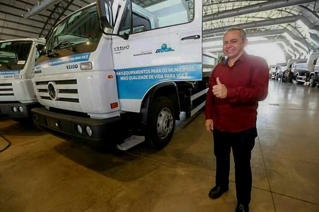 Caminhão doado a Santarém será utilizado na limpeza de Alter do Chão