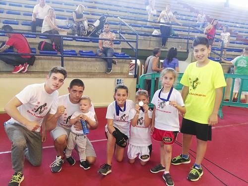 Presencia nazarena en el Campeonato Andaluz de Boxeo en Formas