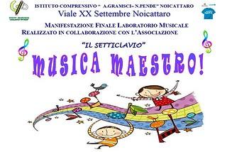 Noicattaro. Musica Maestro alla Pende front