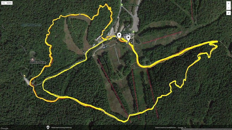 Satellite view of Trail
