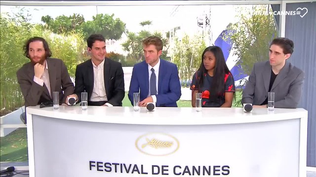 Taliah Webster About Robert Pattinson interview PhotoCall #GoodTime #Cannes2017