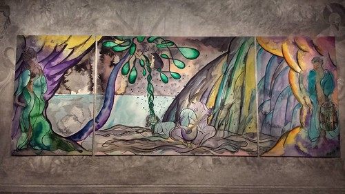 Chris Ofili Tapestry Exhibition