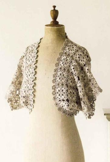 Note Crochet Motif and Edging_36