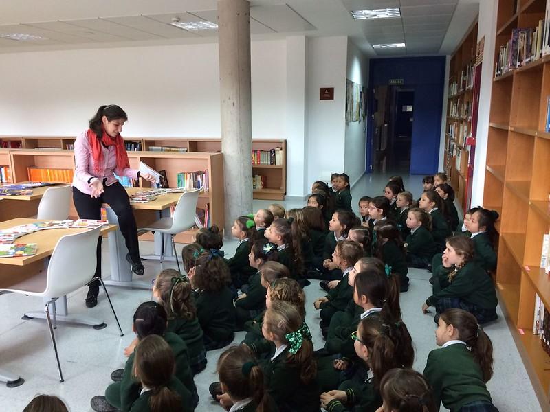 Afición lectora en Infantil