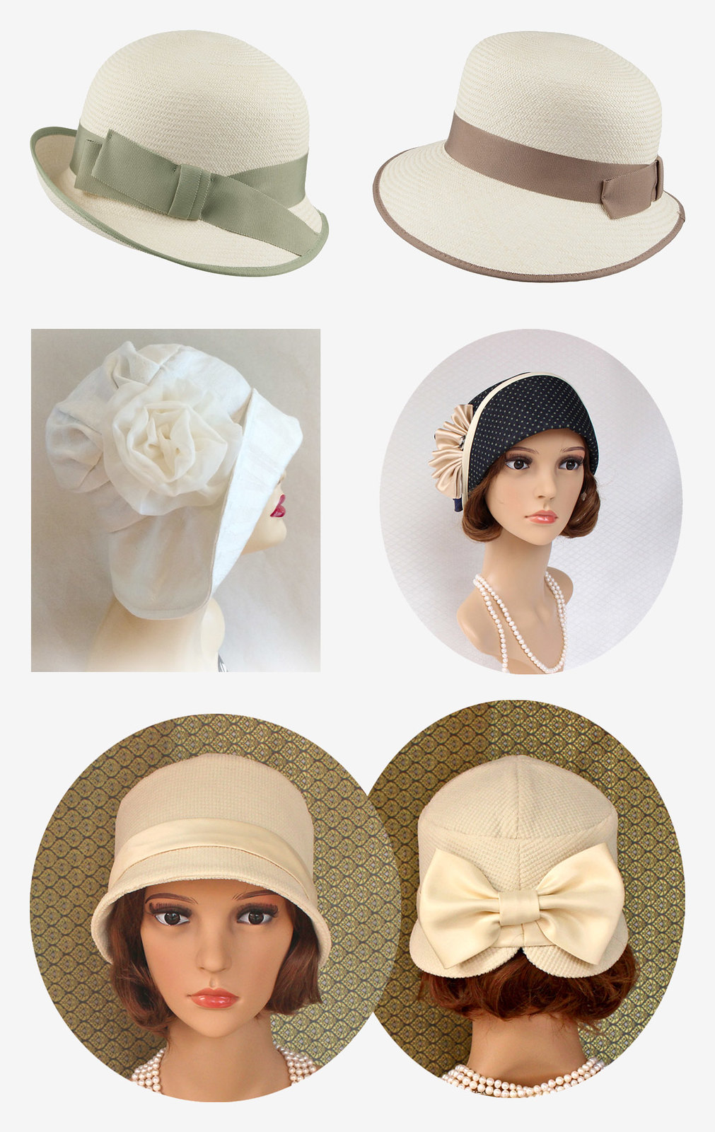 34 Modern Wedding Guest Hats and Fascinators - Cloche hats