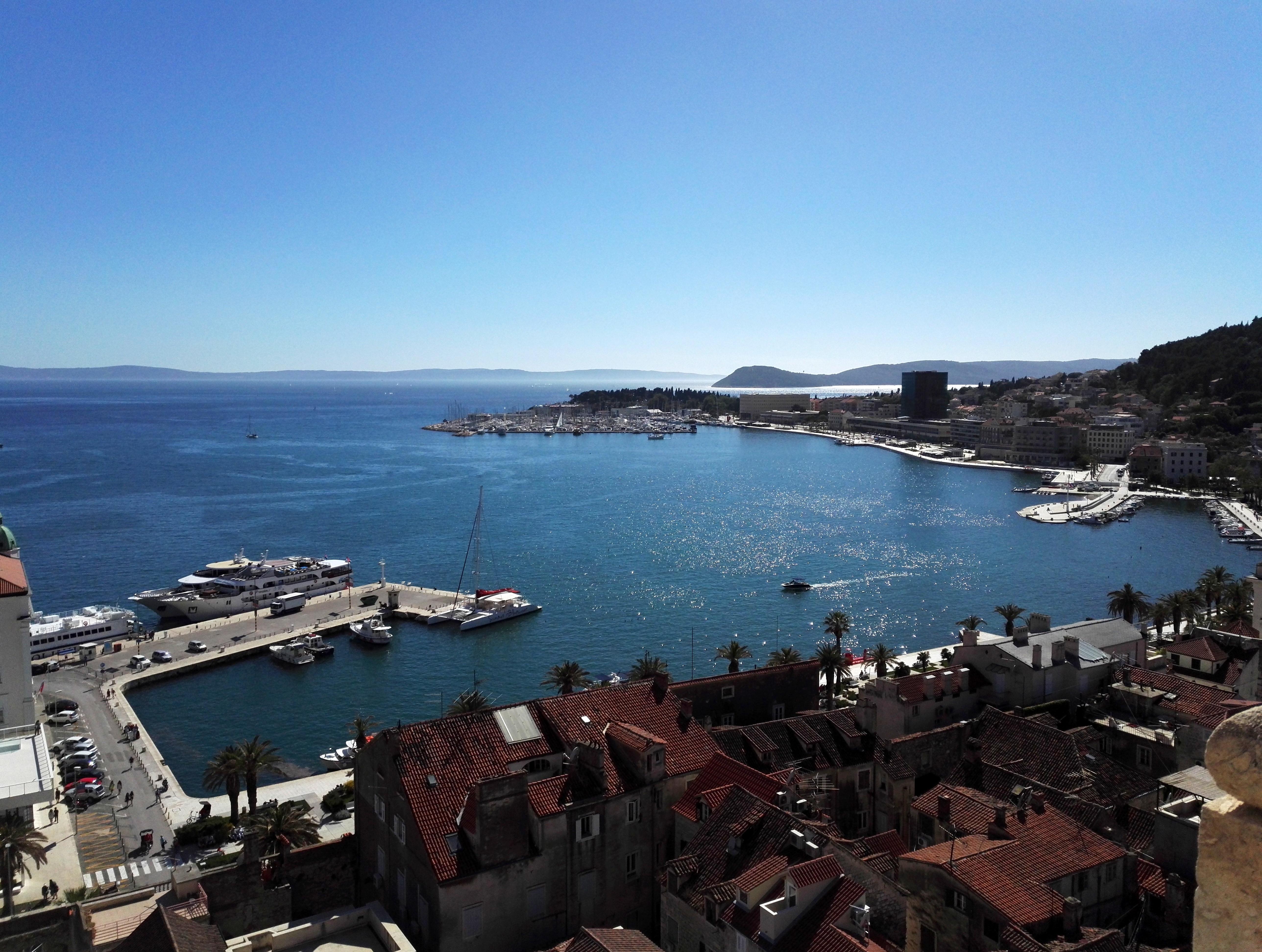 Split kellotorni kroatia