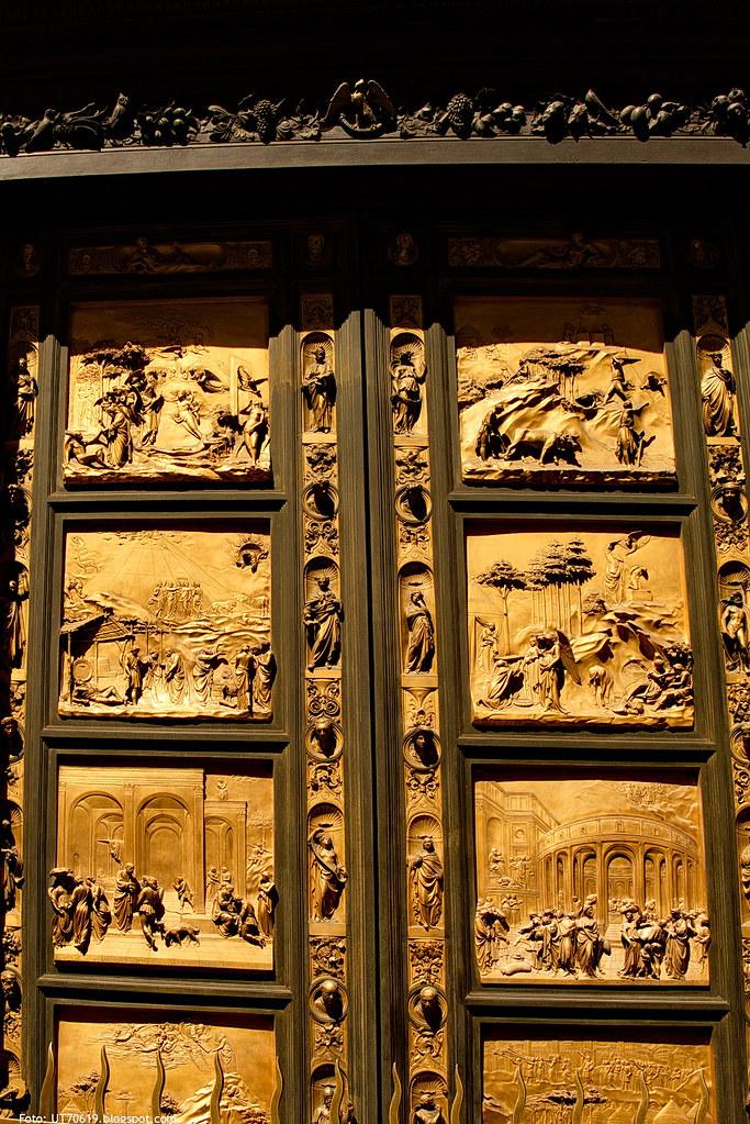 Baptisterium Bronzetür