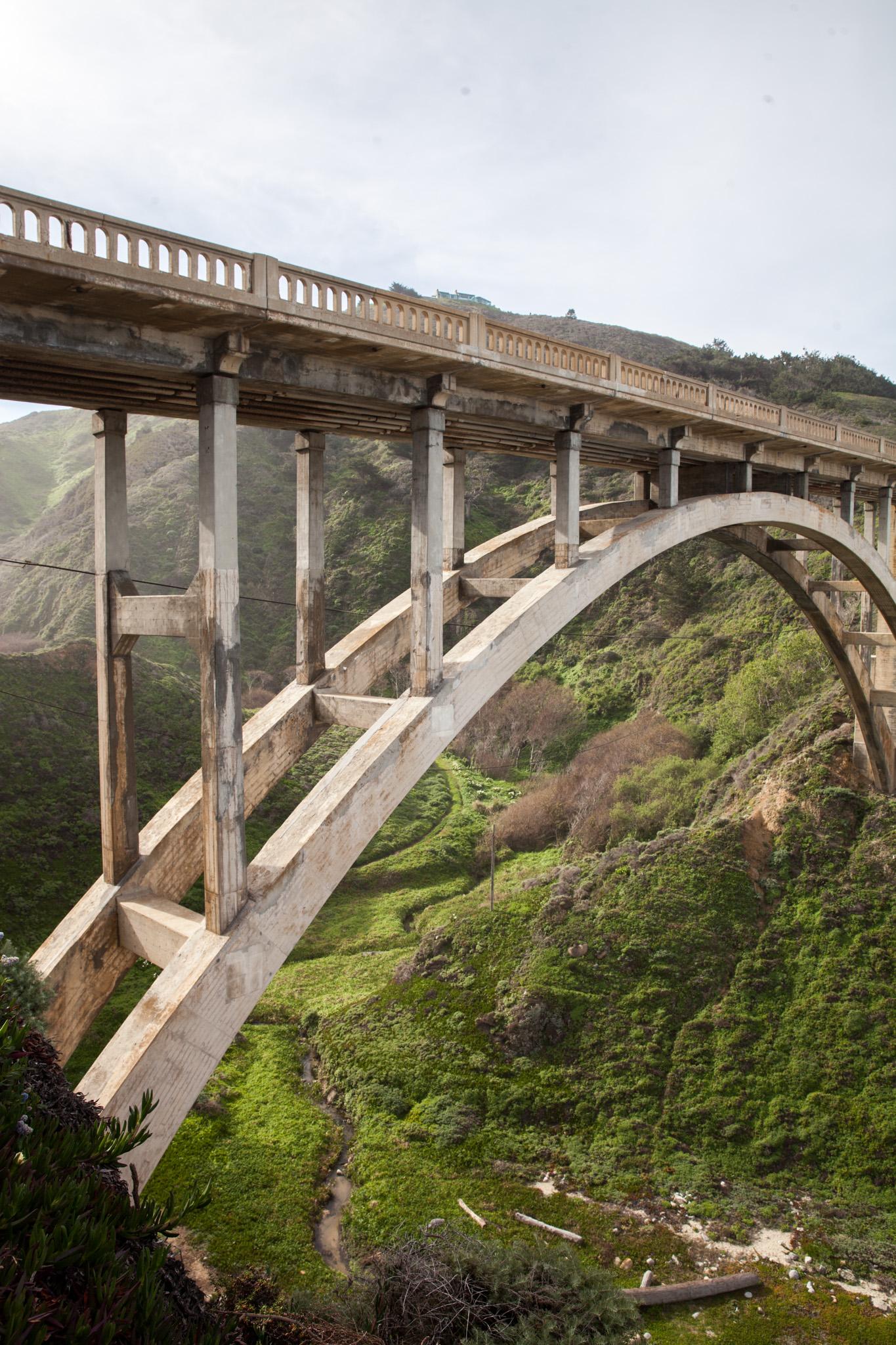 Bixby Creek Bridge, by Virginia Mae Rollison