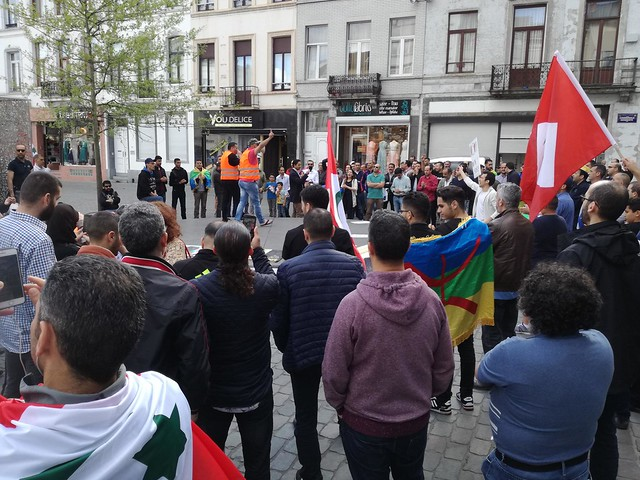 Bruxelles. Rassemblement de solidarité avec la contestation du Rif