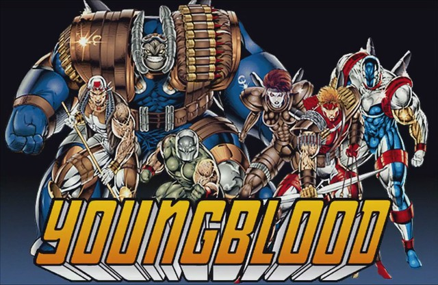 Youngblood - Comic-Spiel