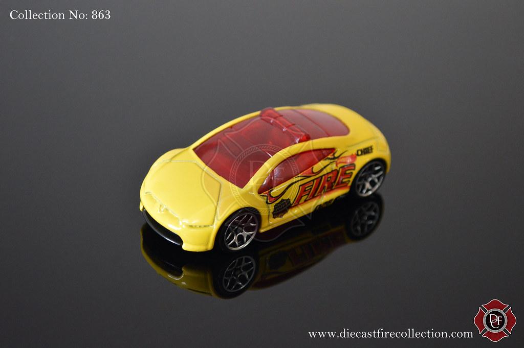 No 863 Hot Wheels Mitsubishi Eclipse Concept Car Fire Flickr