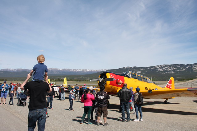 Canadian Arctic Aviation Tour in Whitehorse