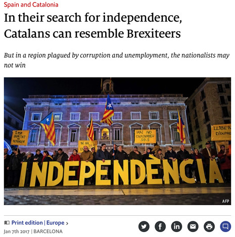17f06 Economist Corrupción complica duelo a garrotazos España Cataluña