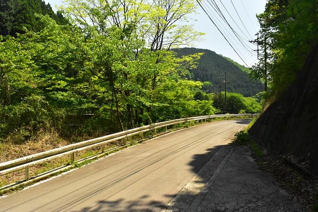 畦ヶ丸 大滝登山口