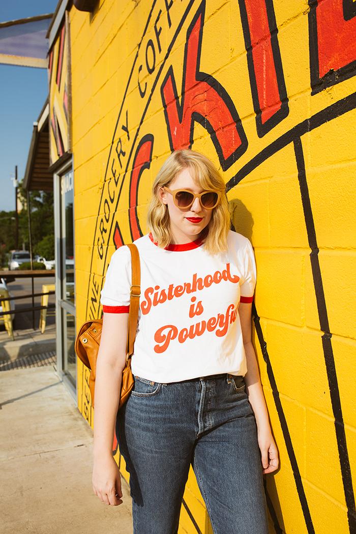 austin fashion blogger writes like a girl luella sisterhood shirt18