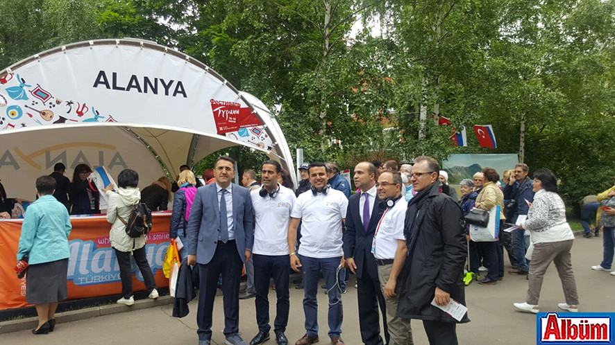 Moskova Krasnaya Presnya Parkı Türkiye Festivali4