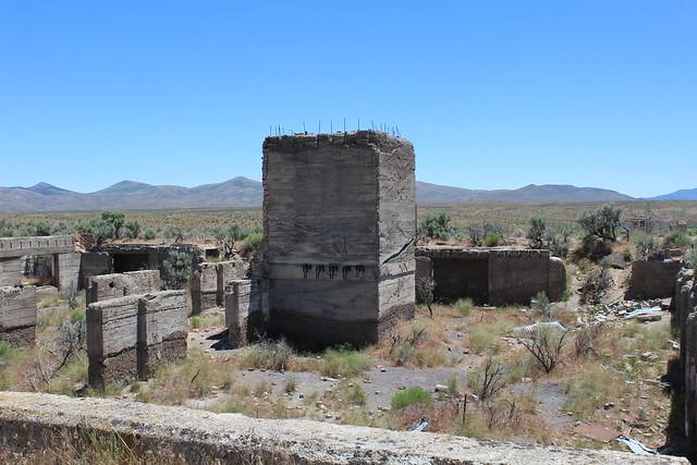 Metropolis hotel ruins