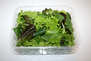 12 - Zutat Blattsalat / Ingredient green salad
