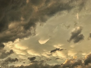 Mammatus Clouds | by Cat Sidh