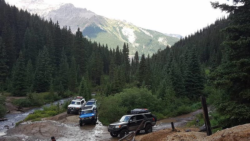 Ouray Colorado FJ Summit Toytec Lifts
