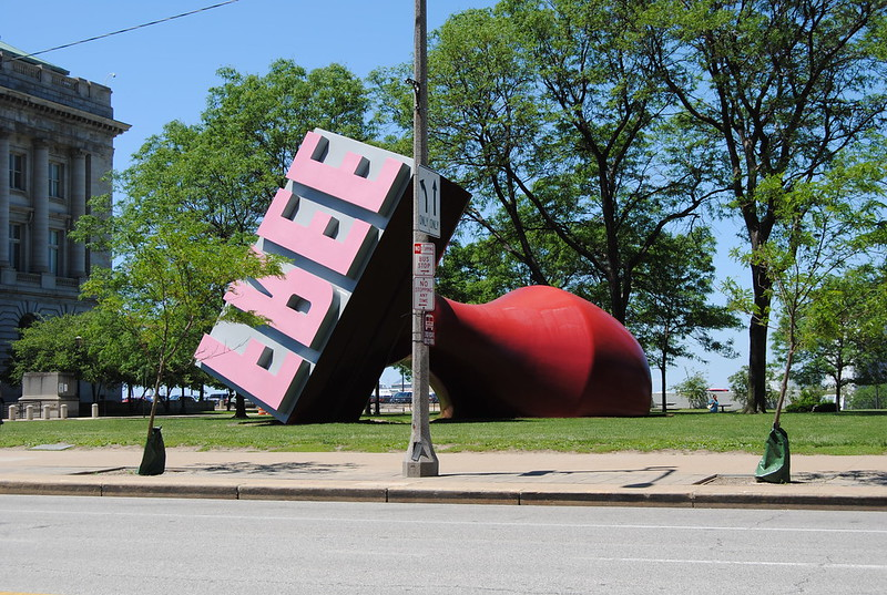 Largest Rubber Stamp, Willard Park, Cleveland, Ohio