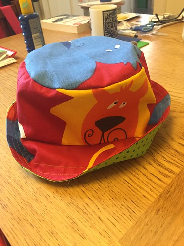 I needed a hat so I made a hat... And heaven knows I'm cheerful now!