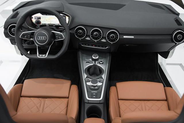 Wnętrze Audi TT