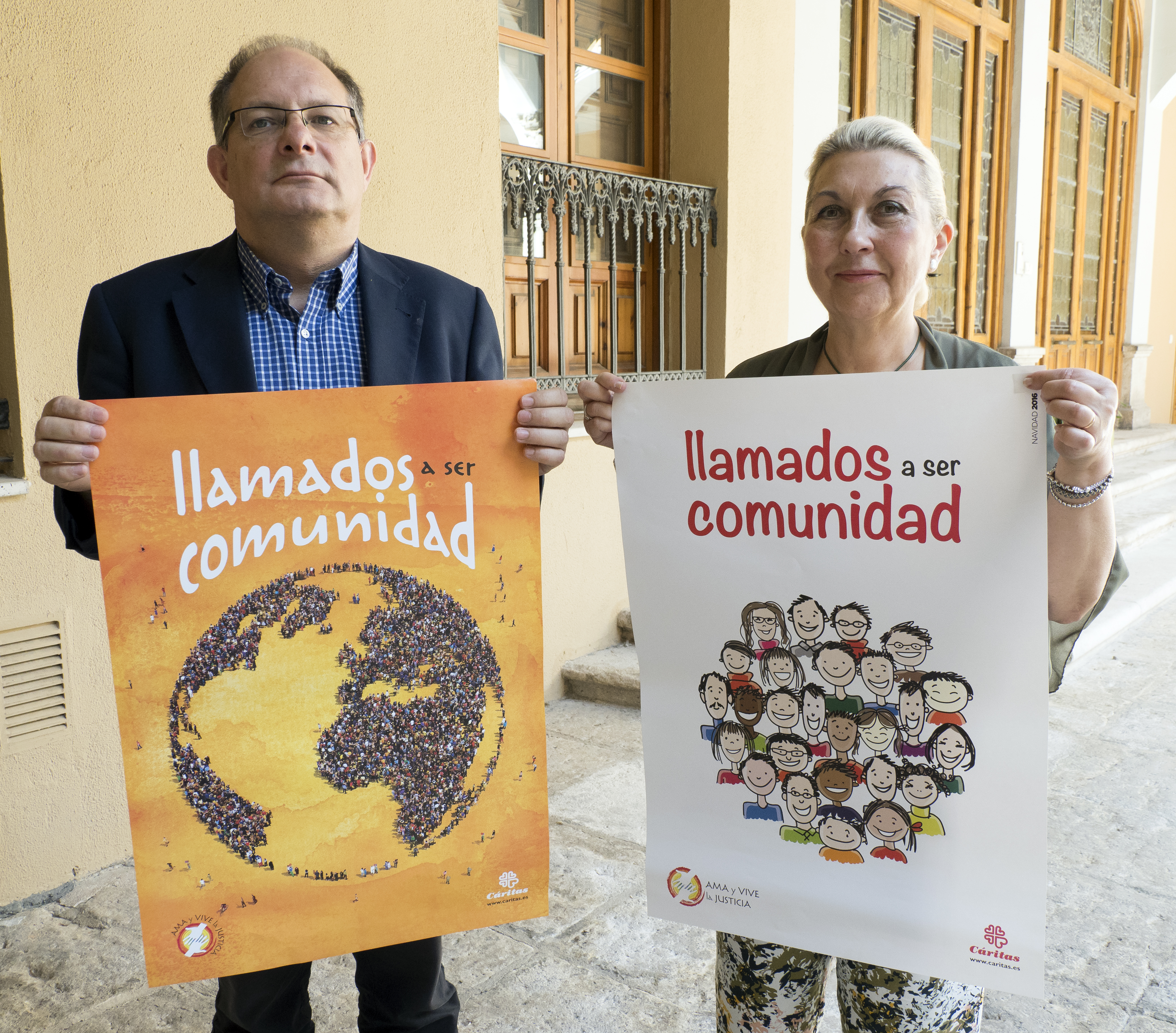 15-6-2017 - Presentación de Cáritas del Día de la Caridad 2017