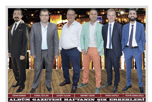 Cihan Duman, Cemal Ceylan, Levent Algan, Mehmet Gedik, Pekka Antila, Tevfik Kemaloğlu