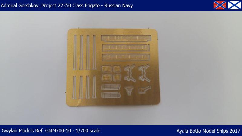 Frégate Gorshkov 417, Projet 22350 - Gwylan Models 1/700 35321926266_17a879922a_o