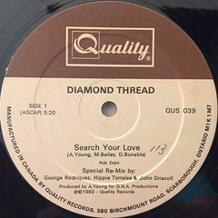 DIAMOND THREAD:SEARCH YOUR LOVE(LABEL SIDE-A)