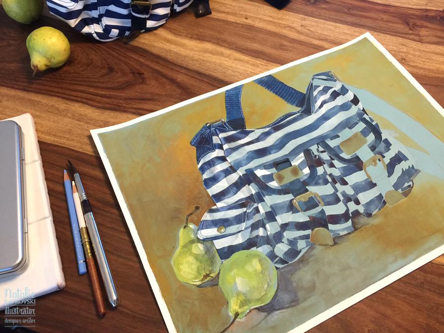 Summer bag in progress