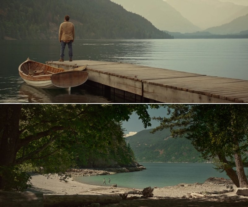 Where was the movie The Shack filmed
