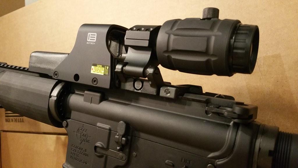 eotech 512 a65 w 3x vector optics magnifier eotech 512 authentic