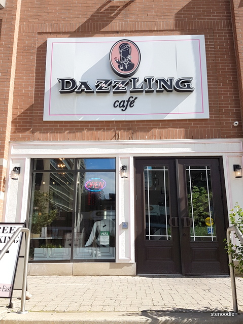 Dazzling Café storefront