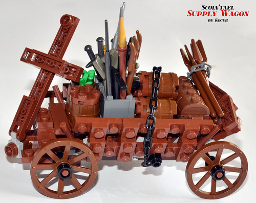 Scoia'tael Supply Wagon 05 Side | by kocurvelox