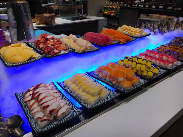 Lemon Garden Shangri-La Buffet - Sushi