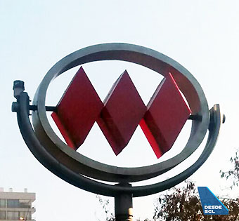 Metro Santiago Logo (VD)