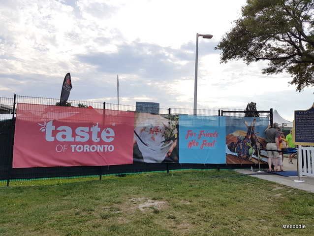 Taste of Toronto banners