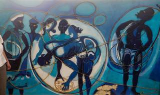 El Hadji Sy: Les pêcheurs (Die Fischer)