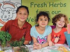 UTES kids gardening