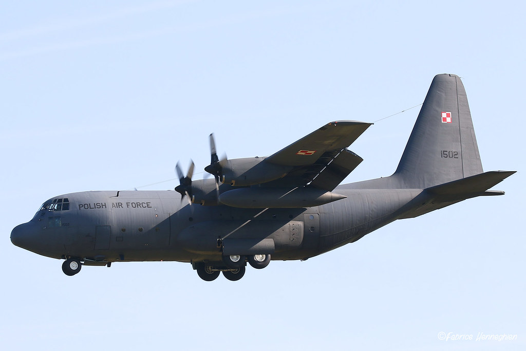 Image result for C-130E polish air force