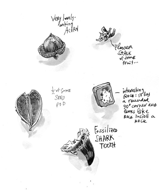 Sketchbook #104: Treasures