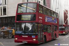 Volvo B7TL Plaxton President - LK04 CRZ - VP518 - Metroline - Willesden Bus Garage 52 - London 2017 - Steven Gray - IMG_9255