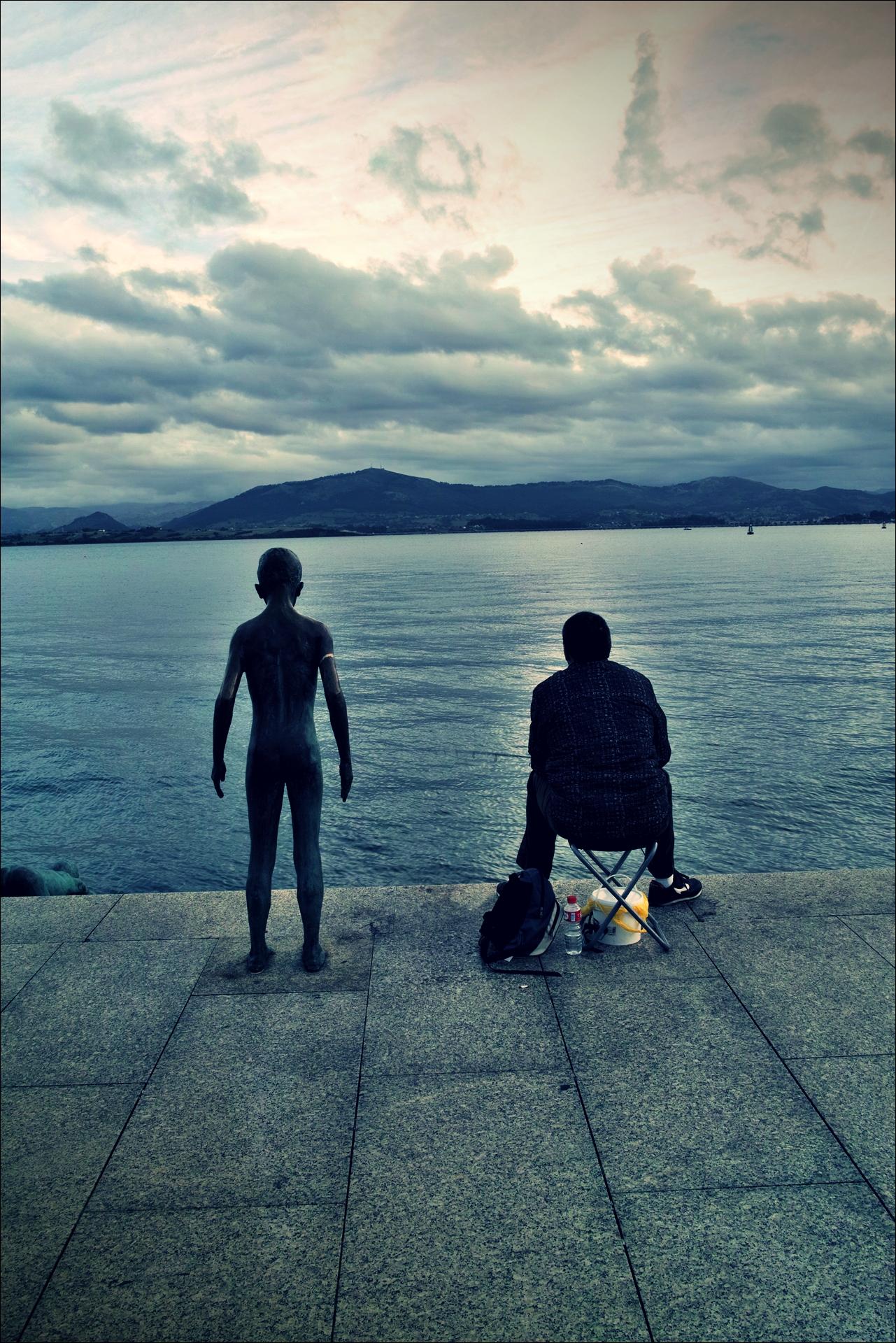 낚시꾼-'산탄데르 둘러보기(Sightseeing Santander)'