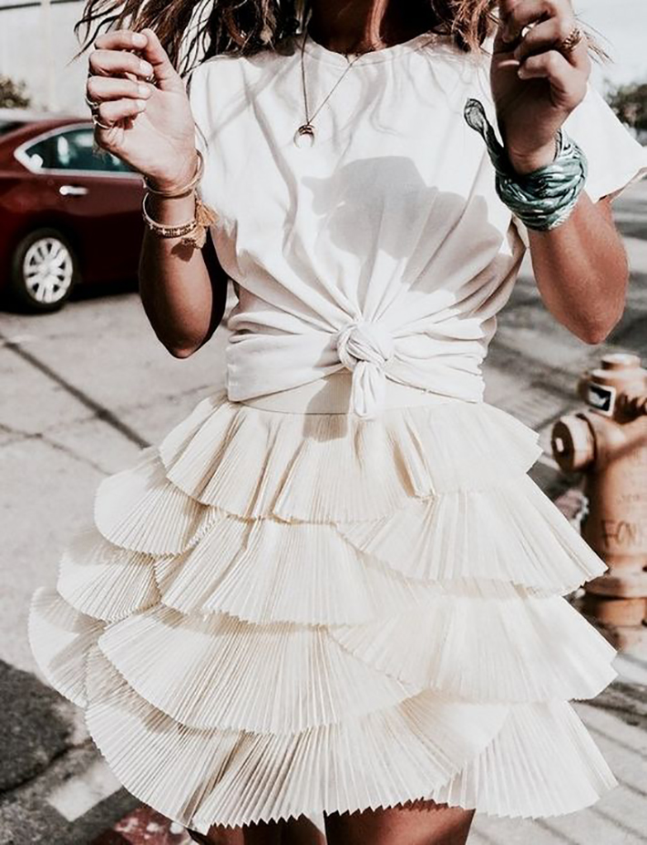 how to wear ruffles summer 2017 street style outfits fashion trend10